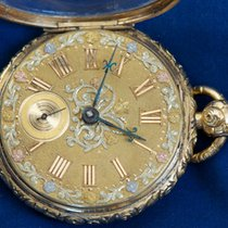 Robert Roskell Liverpool 18k ornate pocket watch, 1825