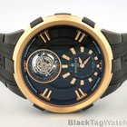 Perrelet Automatic Turbillon DLC 18k Rose Gold Men's Watch
