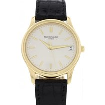 Patek Philippe Men's Vintage  Calatrava 18K Yellow Gold 3998J