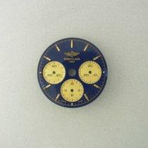 Breitling Callisto Chronomat Lemania Gold Blue Dial Zifferblat...