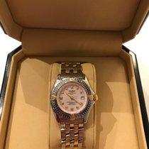 Breitling Callistino Stahl/Gold Deutsche Uhr