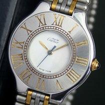 Cartier 21 Must De Quartz Cal. 90.06 Steel Gold Unisex Watch...