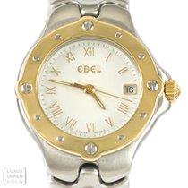 Ebel Uhr Sportwave 750er Gold/Edelstahl Quarz Ref. 6087621
