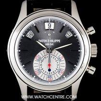 Patek Philippe Platinum Anthracite Dial Annual Cal Chrono...
