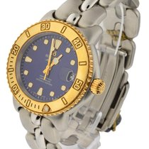 Bertolucci 634.55.49B.214 Diver in Steel with Yellow Gold...