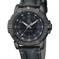 Luminox Modern Mariner Blackout Mens Strap Watch - Black Dial...