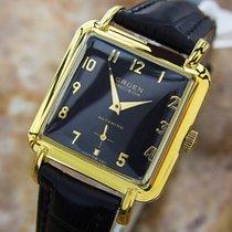 Gruen Rare Bumper Automatic Swiss Made Vintage 1960s Gold...