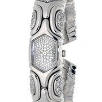 Bulgari Alveare Parentesi Bj02 White Gold, Diamonds, 18mm