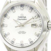 Omega Seamaster Aqua Terra Co-axial Diamond Watch 231.10.34.20...