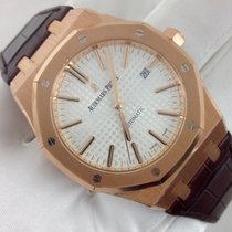 Audemars Piguet Royal Oak Rose Gold White Dial