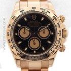 Rolex 18k rose gold Daytona