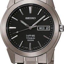 Seiko Titanium SGG731P1 Uhr flach & leicht