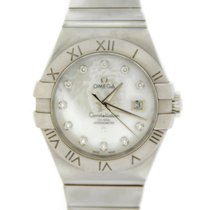 Omega Constellation MOP Diamond Automatic Steel