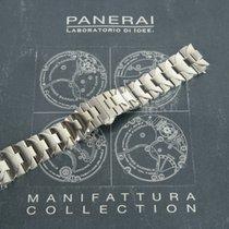 Panerai OEM 24mm Luminor Marina Steel Bracelet PAV00682