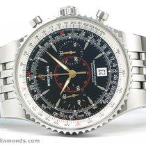 Breitling A23340 Montbrilliant Legende Chronograph Black Dial...