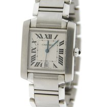 Cartier Tank Large Automatic Stainless Steel