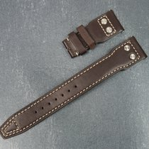 IWC Big Pilot Brown Leather Calf Strap Santoni