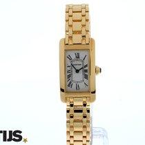 Cartier Tank Americain full gold