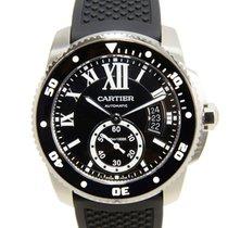 Cartier Caliber De Cartier Stainless Steel Black Automatic...