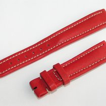 Breitling Kalb Kalbsleder Rot Red Roja Für Dornschliesse 16mm...