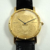 Corum $20 Double Eagle Coin Watch automatic current model