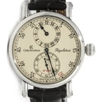 Chronoswiss CH1123 Regulateur 24 Mens 40mm Automatic in Steel...