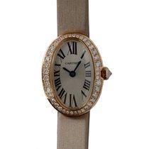 Cartier Bathtub 18 K Rose Gold With Diamonds Silvery White...