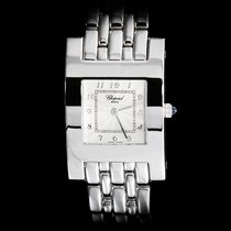 "Chopard 18K Solid White Gold Ladies ""Classique Special H..."