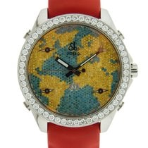 Jacob & Co. Five Time Zones The World Is Yours Date Yellow...
