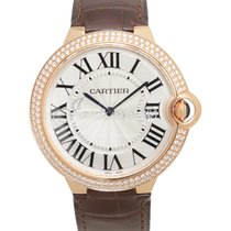Cartier WE902055 BALLON BLEU DE 40mm PINK GOLD 2017