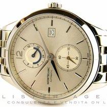 Montblanc Heritage Chronometre Dual Time 24H in acciaio...