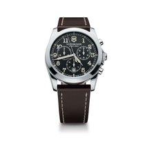 Victorinox Swiss Army Infantry chronograph dark grey dial,...