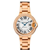 Cartier [NEW+SPECIAL OFFER] Ballon Bleu WE902064 33mm Ladies...
