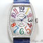 Franck Muller Color Dreams 5850 SC D Diamanten Weissgold 750...