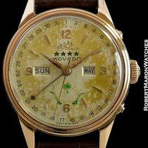 Movado Datomax Saudi Arabia Unpolished 18k Rose Gold Screwback