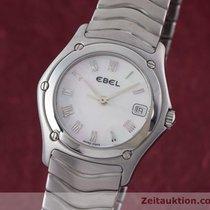 Ebel Lady Classic Wave Damenuhr Edelstahl E9157f21 Perlmutt