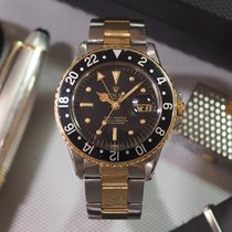 Rolex GMT-MASTER Ref. 1675 Nipple Dial Stainless Steel / Gold