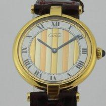 Cartier Must de Cartier Vermeil Ronde Gold Plated Ladies 067107