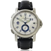 Ulysse Nardin Dual Time Stainless Steel & Leather 2009