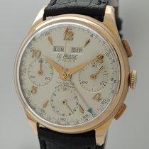 Le Phare Triple Date Chronograph 18k Gold -Valjoux 72c