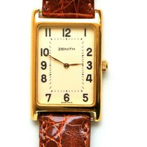 Zenith - Vintage - 18K Yellow Gold Manual Winding Watch - New