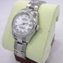Rolex Datejust Stainless Steel White Dial Ladies Watch Box...