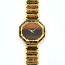 Piaget Yellow Gold Tigers Eye Bracelet Watch