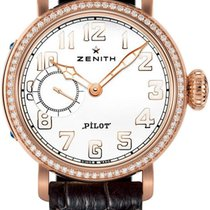 Zenith Pilot Automatic White Dial Ladies Watch 22.1930.681/31....