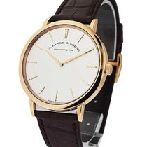 A. Lange & Söhne Saxonia Thin Mens Manual in Rose Gold