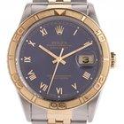 Rolex Datejust Turn-O-Graph Stahl Gelbgold Automatik Ju...
