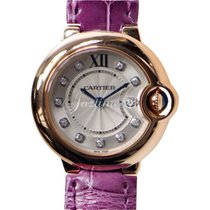 Cartier WE902050 BALLON BLUE DE 28mm PINK GOLD 2017