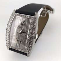 Piaget Limelight Tonneau XL white gold full diamond set 36193 NEW