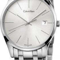 ck Calvin Klein time K4N23146 Damenarmbanduhr flach & leicht