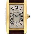 Cartier 18k yellow gold large Tank American